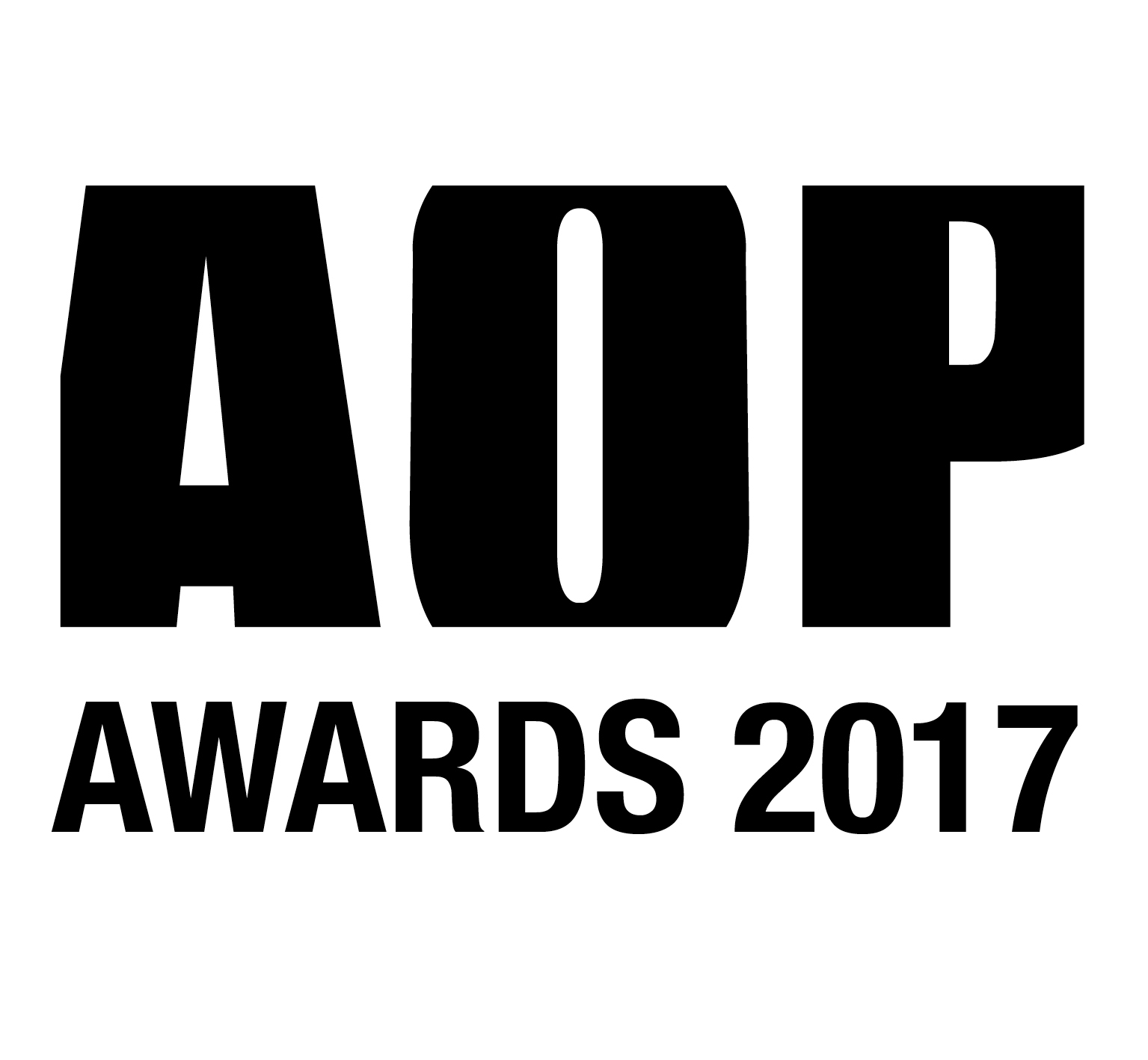 AOP Awards 2017 Logo Black