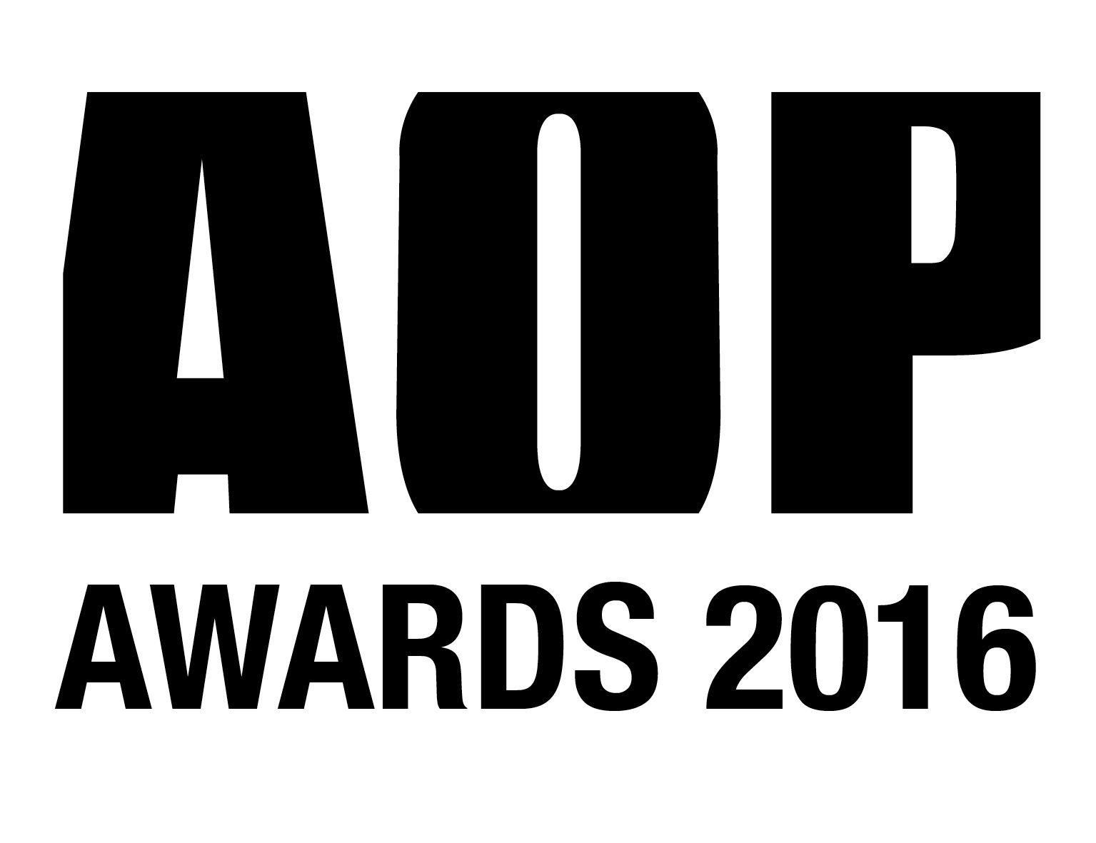 AOP Awards Logo Black