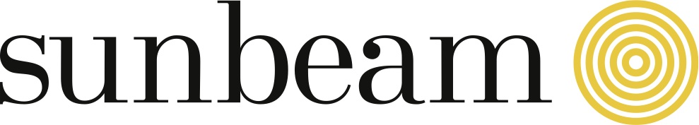 SunBeam logo Black