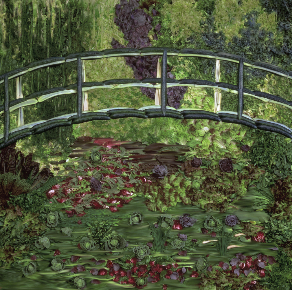 Tessa TRAEGER Hommage to Monet 1989 copy