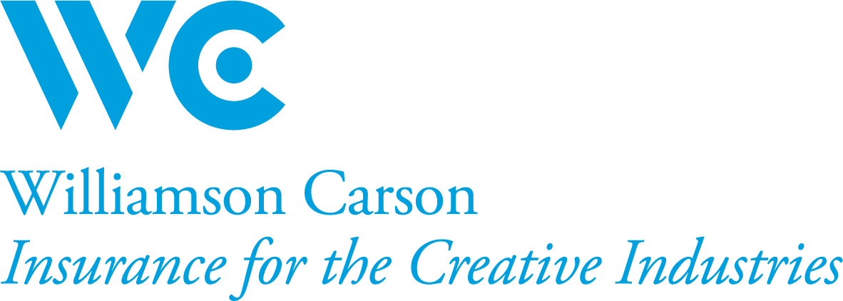 Williamson Carson lockup cyan rgb