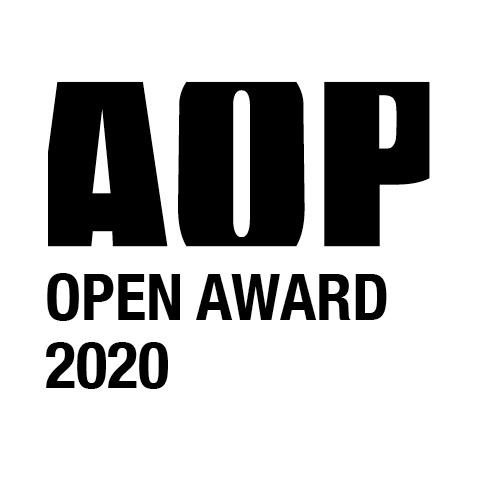 AOP Open Award logo 2020 BLACK