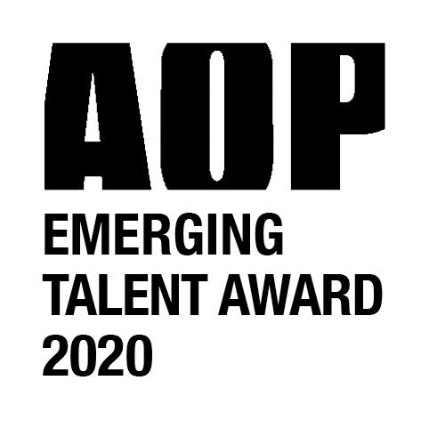 AOP Emerging Talent Award logo 2020 BLACK
