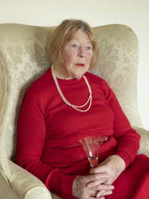 Grandma on Christmas Day