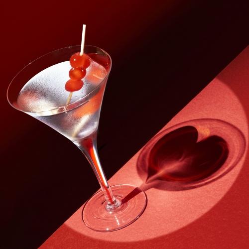 red martini flat