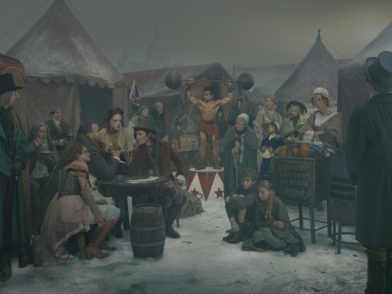 1814 Frost Fair Armwrestling