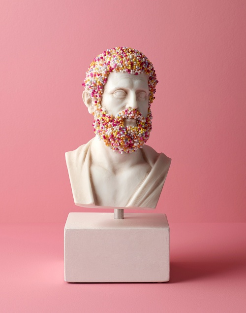 bust on pink with sprinkles sara morris thumb1