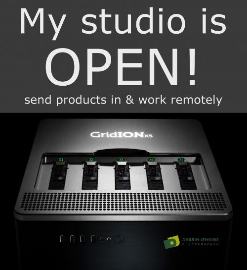 Social media studio open