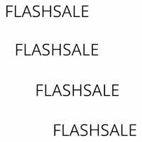 Flashsale graphic copy