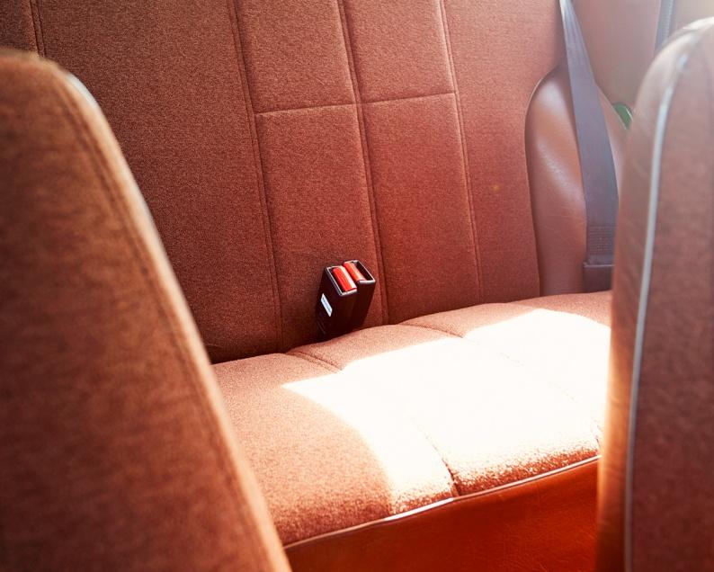 20 Volvo 245DL Rear seats