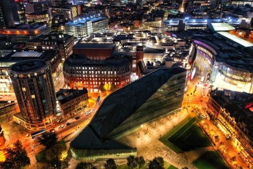 Manchester At Night