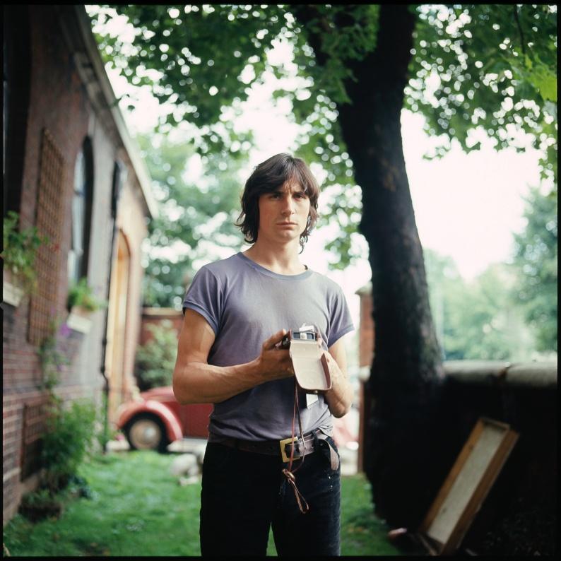 Peter Webb in Park Village Garden 1967 jpeg