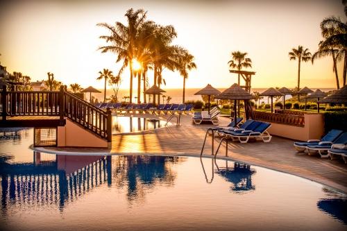 luxury resort sunrise