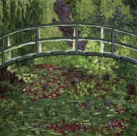 Tessa TRAEGER Hommage to Monet 1989 copy