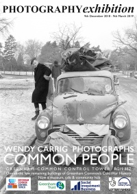 e flyer Common People exhibition