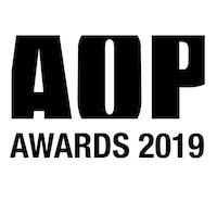AOP Awards 2019 Logo Black 200px