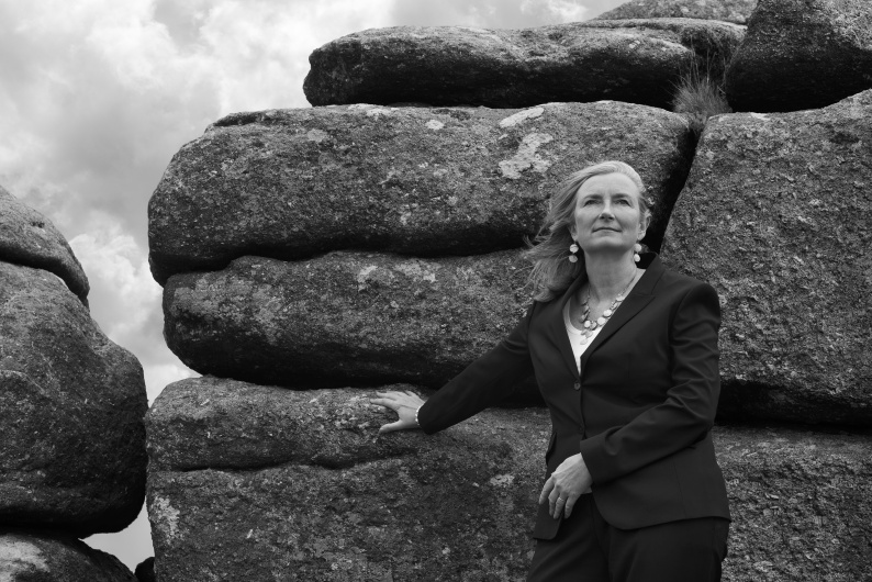 DR SARAH WOLLASTON MP for TOTNES by Clare Park