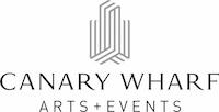 Canary Wharf Art Events CMYK logo BLK text copy