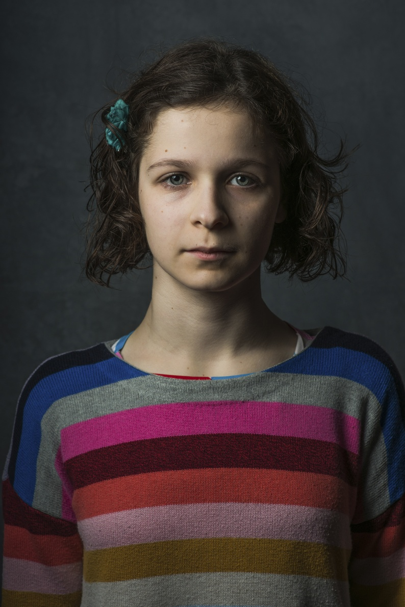 Erin McVeigh age 12 Being Inbetween CarolynMendelsohn2018