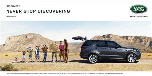 LAND ROVER AD DISCOVERING FAMILY
